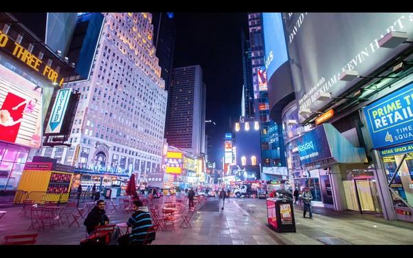 0045 NEW YORK MANHATTAN TIMES SQUARE NIGHT