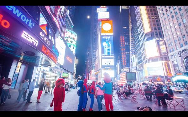 0044 NEW YORK MANHATTAN TIMES SQUARE NIGHT