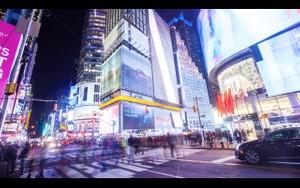 0055 NEW YORK TIMES SQUARE NIGHT