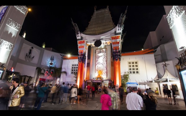 0014 LOS ANGELES HOLLYWOOD NIGHT