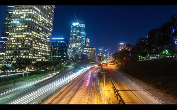 0018 LOS ANGELES DOWNTOWN NIGHT