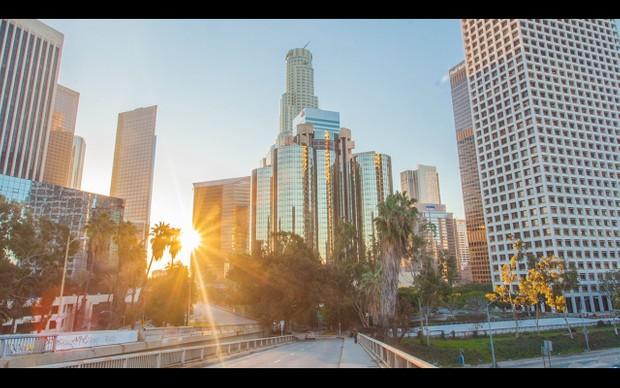 0001 LOS ANGELES DOWNTOWN SUNRISE