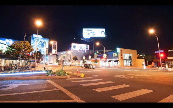 0017 LOS ANGELES SUNSET NIGHT
