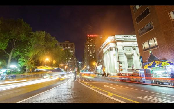 0048 NEW YORK MANHATTAN NIGHT