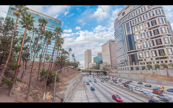 0013 LOS ANGELES DOWNTOWN DAY