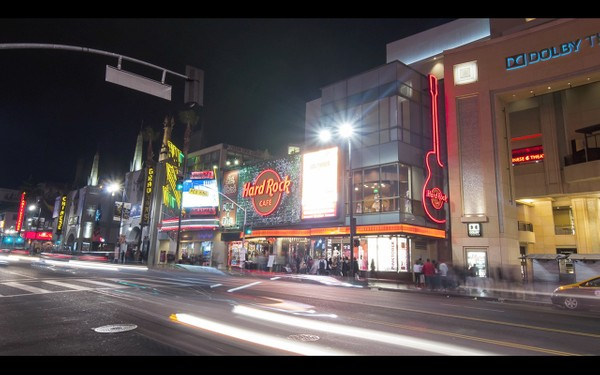 0010 LOS ANGELES HOLLYWOOD NIGHT