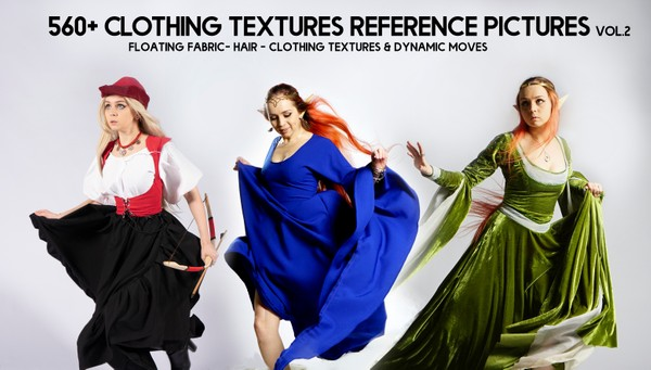 560+ Clothing Textures Reference Pictures - Part II
