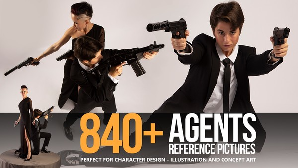 840+ Agents Reference Pictures