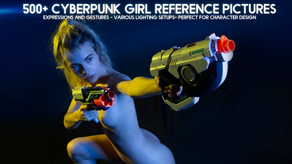 500+ Cyberpunk Girl Reference Pictures for Artists