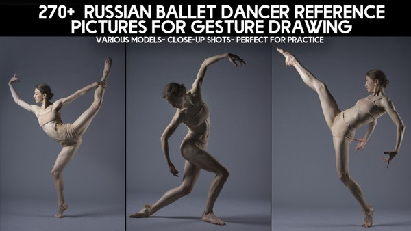 270+ Russian Ballet Dancer Reference Pictures for Artists
