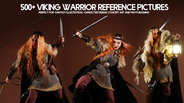 700+ Warrior & Fairy Character Reference Pictures