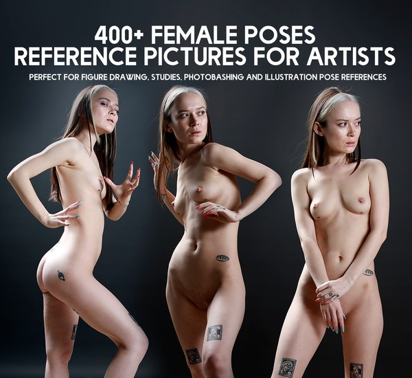 400+ Epic Female Poses- Reference pictures pack