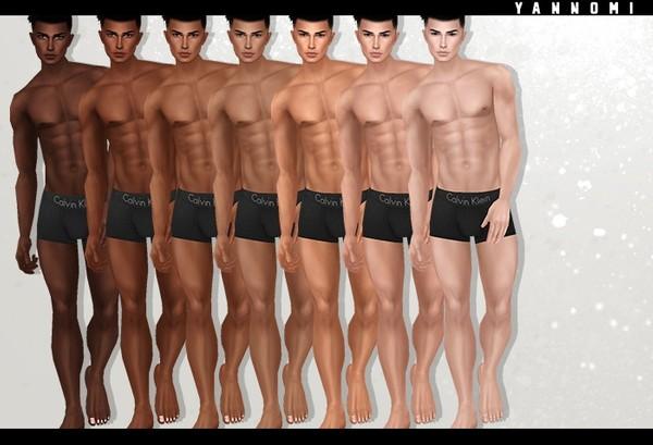 Y: IMVU File Sales - Skins male - john