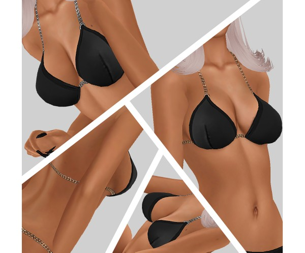 IMVU file sales -  basic bikini top