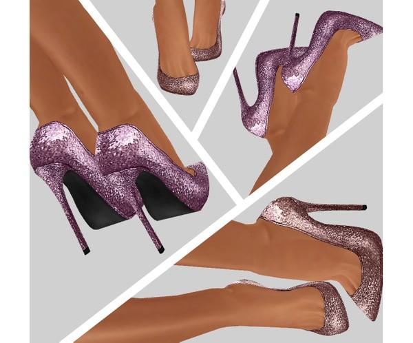 IMVU file sales - glitter heels