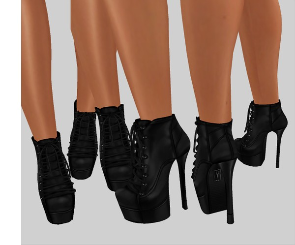 IMVU file sales leather -  ankle boots