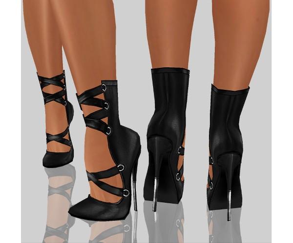 IMVU file sales - LEATHER - x heels