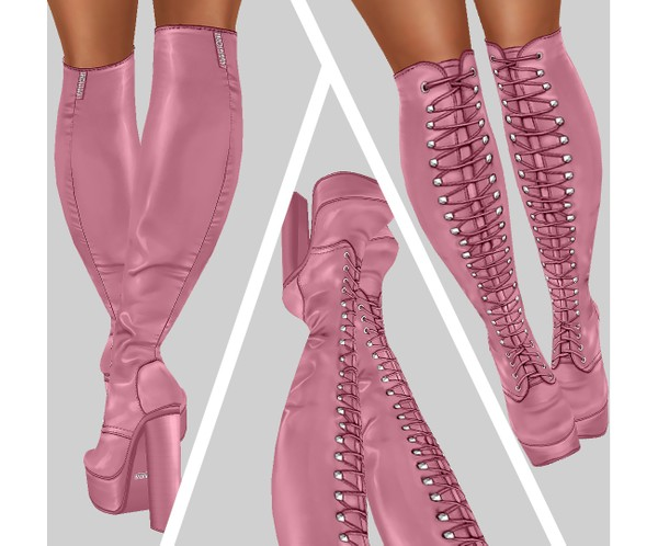 IMVU file sales - CANDY - laced boots
