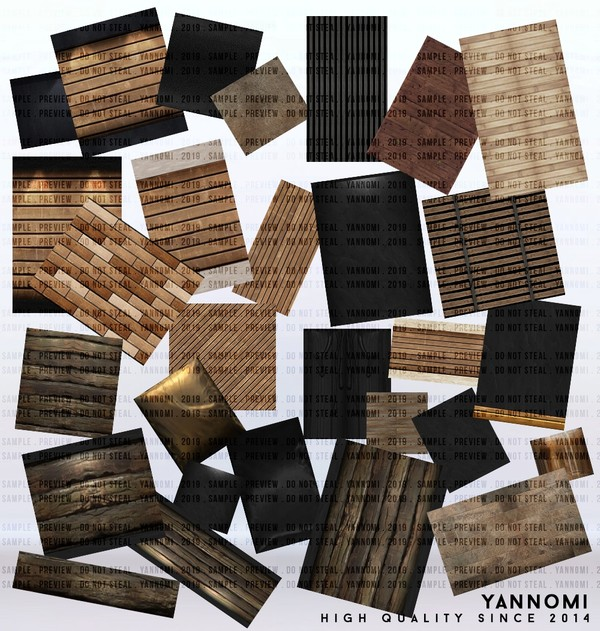 YANNOMI IMVU FS: room pack wooden