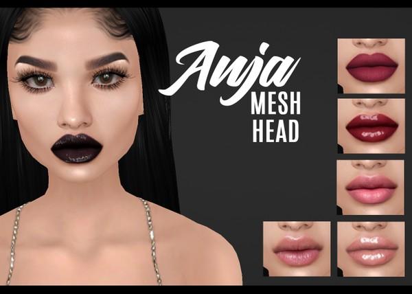 IMVU mesh heads - anja