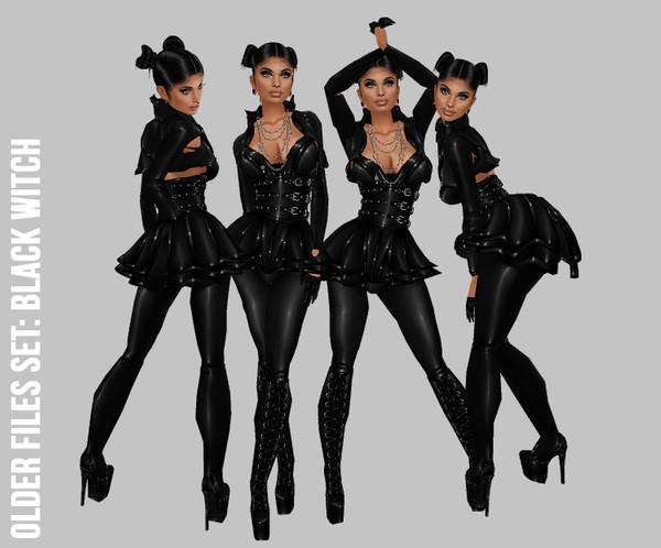 IMVU file sales: black witch