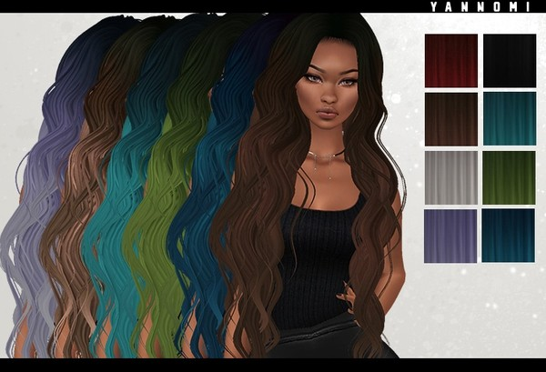 IMVU HAIR TEXUTRE PACK - dany