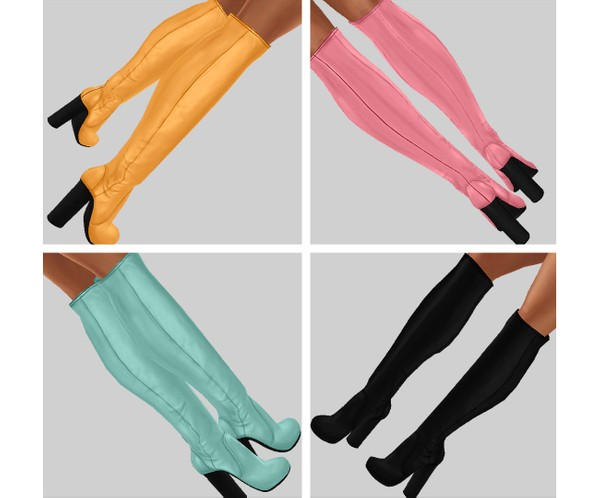 IMVU file sales - SUMMER - tall boots
