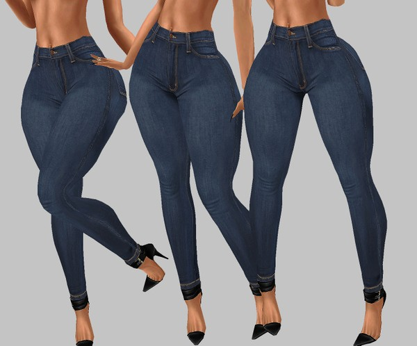 IMVU file sales: hd bottoms - dark jeans