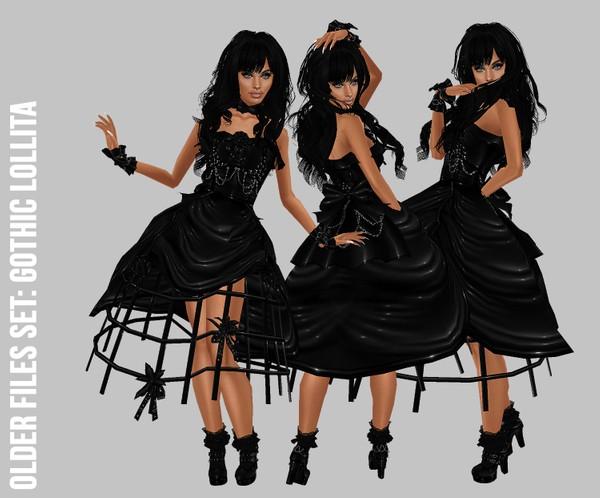 IMVU file sales: gothic lollita