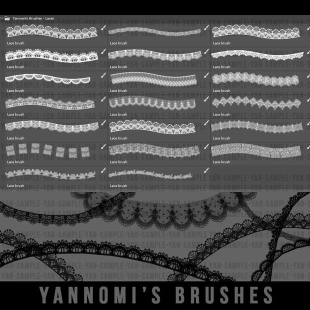 Yannomi's Brushes - laces
