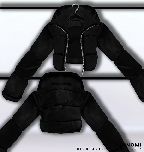 IMVU FILE SALES 2019: Fall Collection | Puff jacket and top