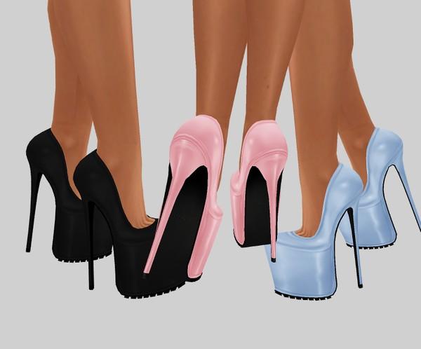 IMVU file sales: cute & tattoos set: high heels