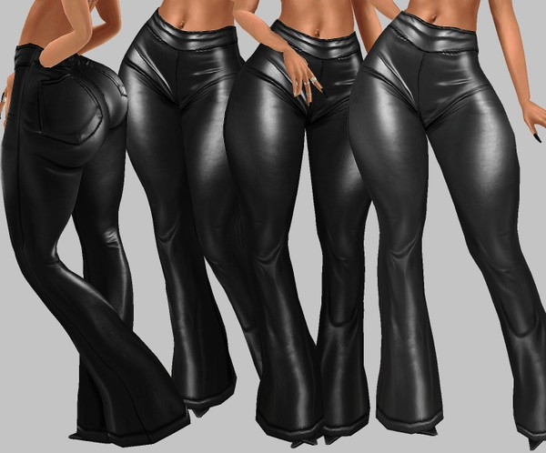 IMVU file sales: hd bottoms - leather flares
