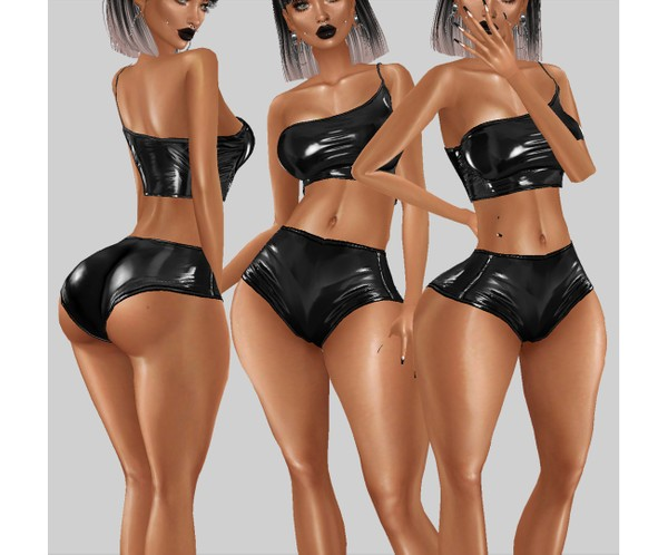 IMVU file sales - latex shorts