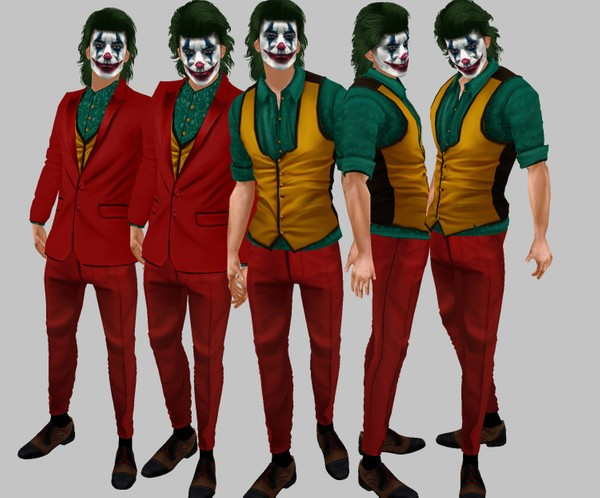 IMVU file sales: halloween - joker 2019