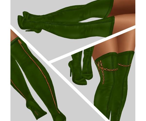 IMVU file sales - TROPICAL - tight high heels