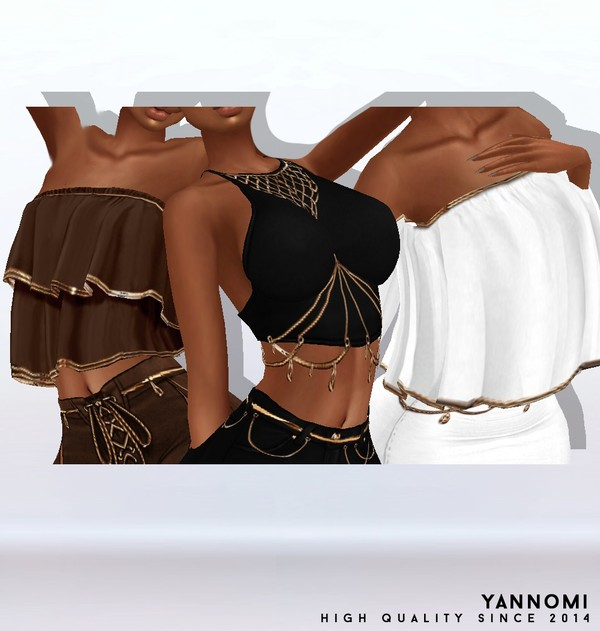 Y: LIMITED FILE: boho collection 2019 | tops pack