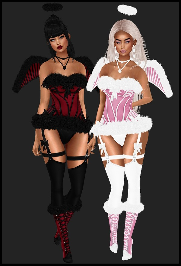 [ IMVU XMAS 2018: christmas angel bundle ]