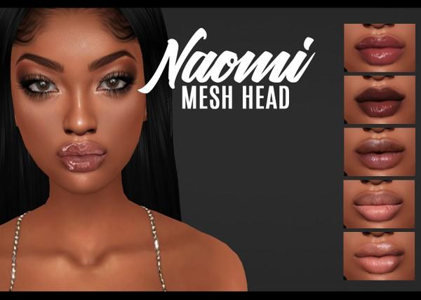 IMVU mesh heads - naomi