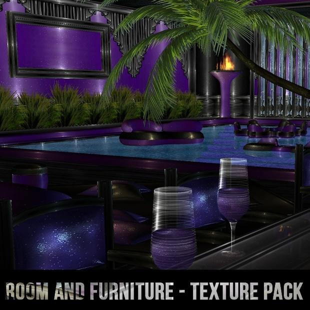 Purple Pool Set