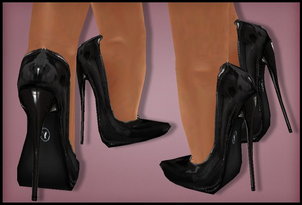 IMVU files: classic pumps black