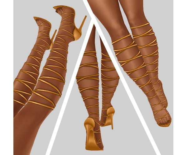 IMVU file sales - TROPICAL - tied heels