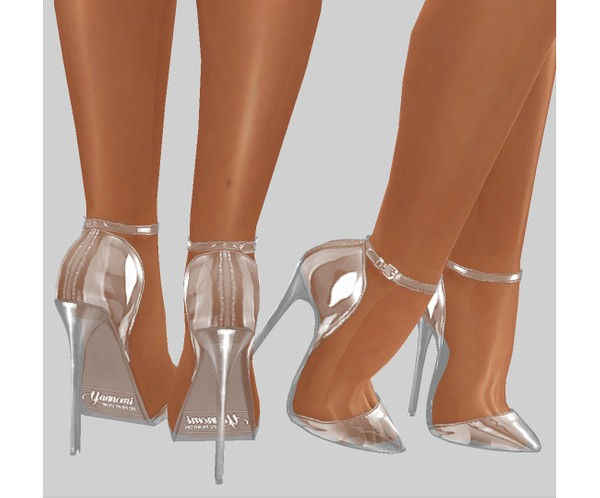 IMVU file sales - transparent glass pumps v.2