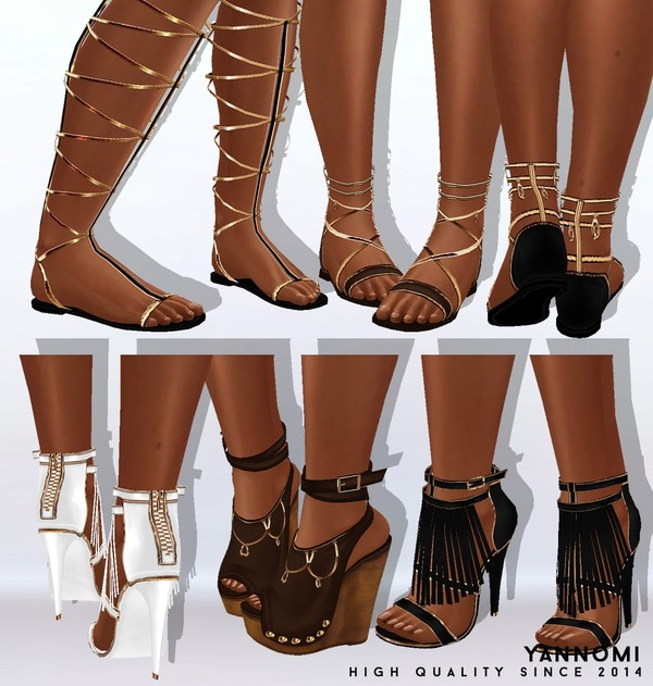 Y: LIMITED FILE: boho collection 2019 | shoes pack
