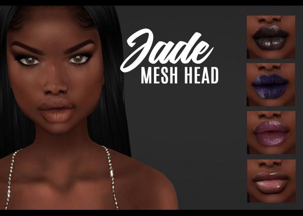 IMVU mesh heads - jade