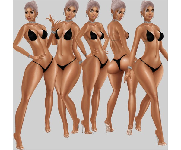 IMVU file sales - BODY SHINE - wet, oiled, glossy layerable!