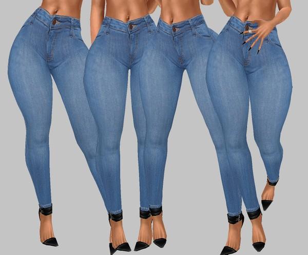 IMVU file sales: hd bottoms - classic jeans