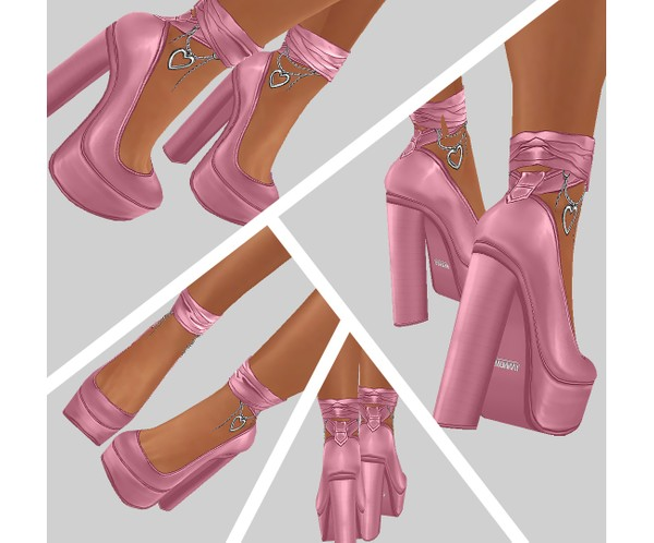 IMVU file sales - CANDY - heels with hearts