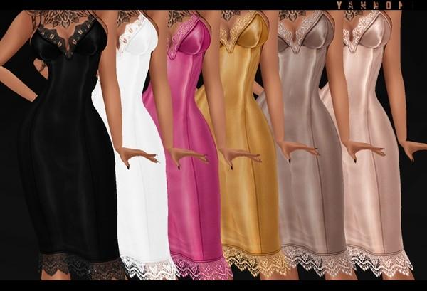 IMVU 2018: silk dress