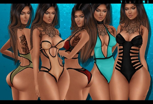 IMVU 2018: summer kardashians set